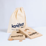 konifez®-mini-Partyset (2 Bretter + Zubehör)