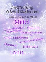 Adventskalender Mittel/ Standart
