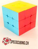 3x3 Speedcube stickerlos