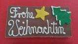 Vollmilch Schokolade mit Beschriftung