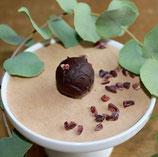 Kakao Trüffel mit Nibbs von der Kakaobohne