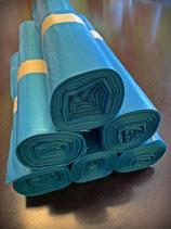 Müllbeutel blau, 120 Liter