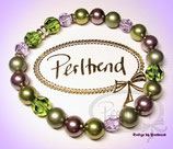 Stretcharmband Lavendula Pearls 20