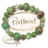Armband Funny Green Harmony with Crystals