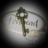 Anhänger antik Schlüssel 22