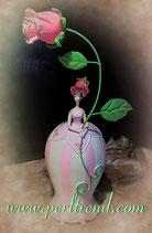 Rosen Mädchen Figur Dekoration