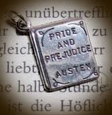 Anhänger Buch Pride and Prejudice Jane Austen