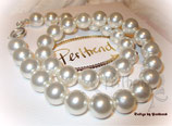 Halskette White Pearls12 ONLY