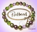Stretcharmband Lavendula Pearls 22