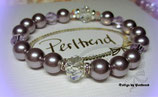 Stretcharmband Lillia Pearls 19