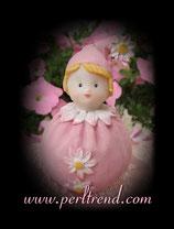 Blümchen Margerite Rosa Figur Dekoration