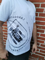 Herren t-shirt weiß/schwarz München