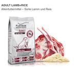2x 5kg PLATINUM Lamb & Rice