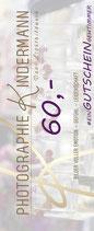 Wertgutschein 60,- Euro