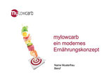 """Einführungsvortrag zu """"mylowcarb: ein modernes Ernährungskonzept"""""""