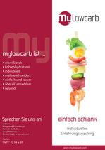 mylowcarb-Plakat