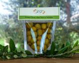 Oliven in Salzlake