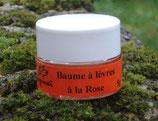 Baume pour les lèvres à la rose