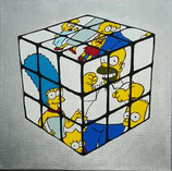 Mike Hieronymus - Rubiks Simpsons