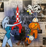 Mike Hieronymus - Barbarella and the astronaut