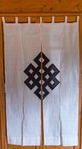 Rideaux en tissu ornement géométrique