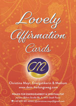 Lovely Affirmation Cards