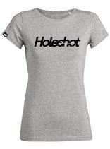 T-SHIRT Holeshot grijs - vrouw