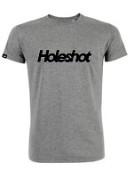 T-SHIRT Holeshot grijs - man