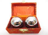 Meridiaankogels zilver 4,5 cm