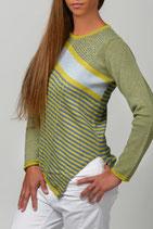 Diagonal Stripes Pullover