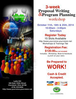 Proposal Writing & Program Planning