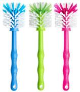 3er Mixbehälterbürste (Blau/Grün/Pink)