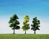 Faller 181497  15 Mischwaldbäume, sortiert