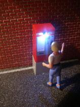 MSW 01010208 Fahrkartenautomat mit Beleuchtung H0
