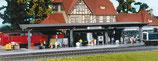 Faller 120200 Bahnsteig mit laufenden Figuren