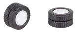 Faller 163104 2 Kompletträder (Zwillingsbereifung) Reifen + Felgen für Bus