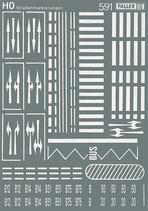 Faller  180536 Straßenmarkierungen