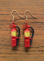 "Earring ""Fire extinguishers"""