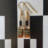 Whiskey bottles (Jack Daniels) Earrings