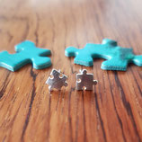 "Earrings ""Puzzle Pieces"""