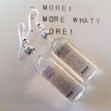 Vodka (Absolut) bottle Earrings