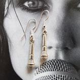 """Earring """"microphone"""""""