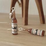 "Earrings ""Bottle of Beer"""
