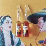 Corona Beer Earrings