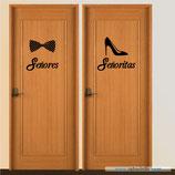 Servicios - Señores con pajarita y Señoras con zapatos de tacón