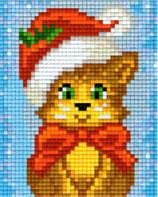 801422 Chat de Noël