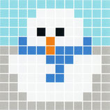 1XL8 Bonhomme de neige 2