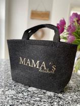 Mama ´ s Dascherl - dunkelgrau
