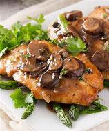 Chicken Marsala- P