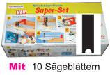 A10-2  Super-Set 7 tlg.+ 10 Sägeblätter Typ Black+Decker